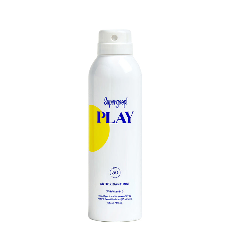 SUPERGOOP! | PLAY Antioxidant Body Mist SPF 50 with Vitamin C