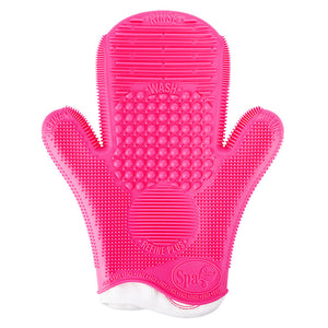 SIGMA BEAUTY | Pink Brush Cleaning Glove