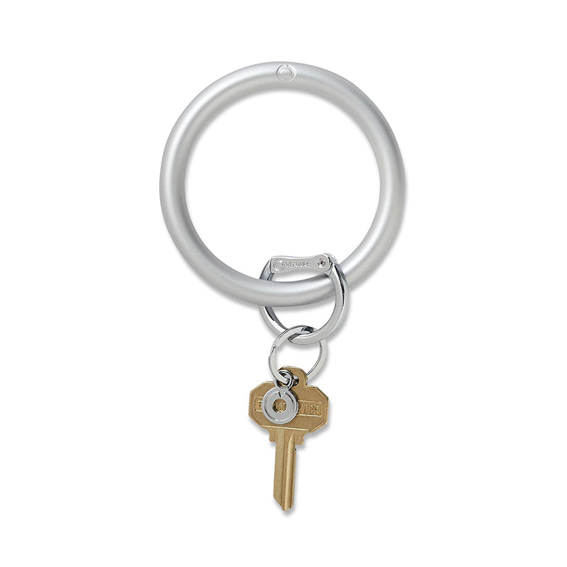 O-VENTURE | Big O Key Ring -  Quicksilver Solid