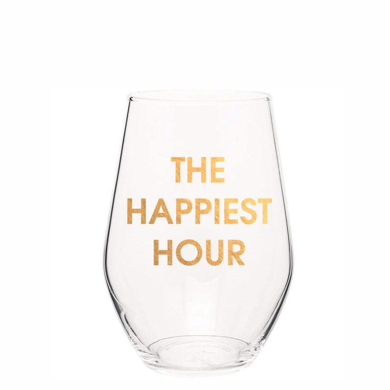 chez-gagne-the-happiest-hour-stemless-wine-glass
