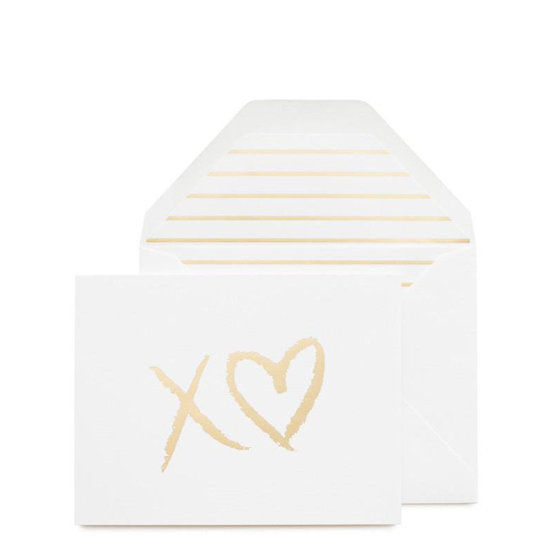 SUGAR PAPER | XO Heart Card