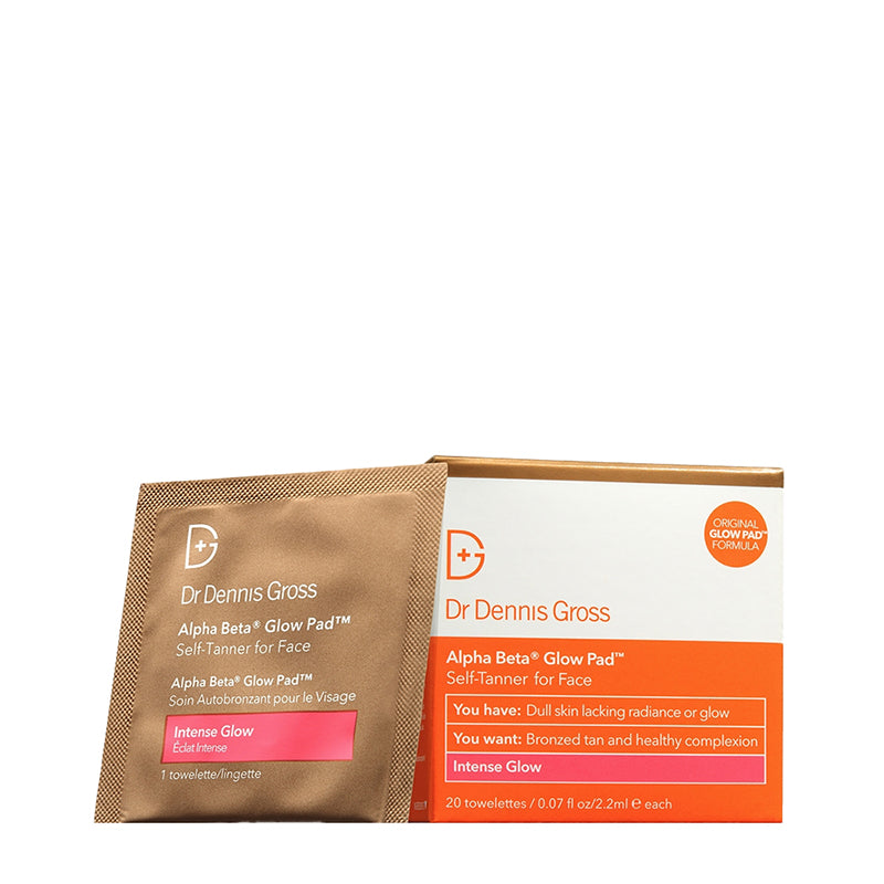 DR DENNIS GROSS | Alpha Beta® Glow Pad for Face - 20 Pack