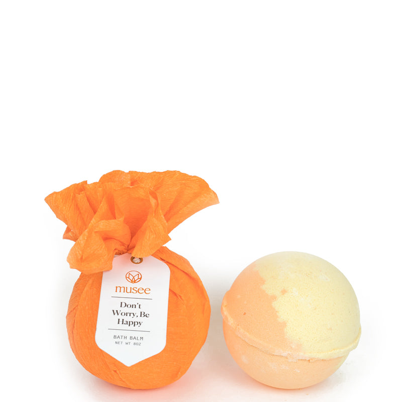 MUSEE BATH | Don't Worry, Be Happy Bath Bomb