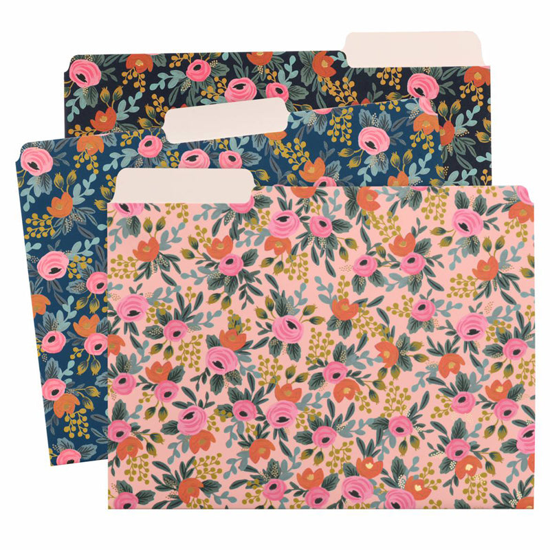 rifle-paper-co-rosa-file-folder-set