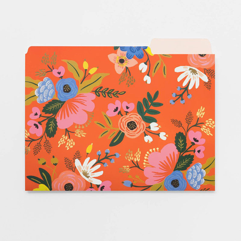 RIFLE PAPER CO. | Lively Floral File Folder Set