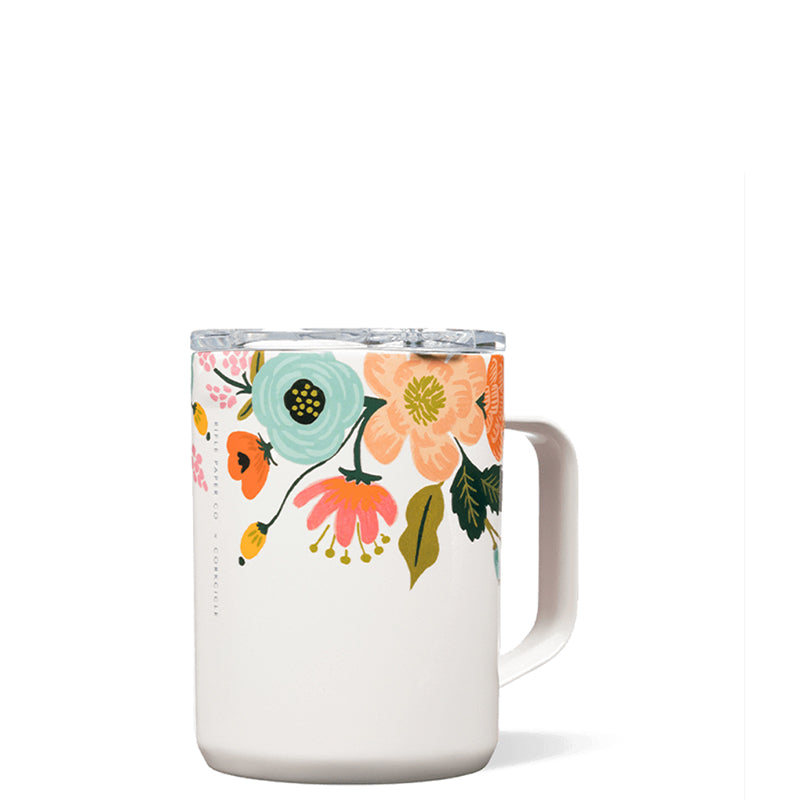 CORKCICLE | Coffee Mug - Cream Lively Floral