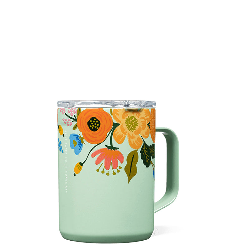 CORKCICLE | Coffee Mug - Mint Lively Floral