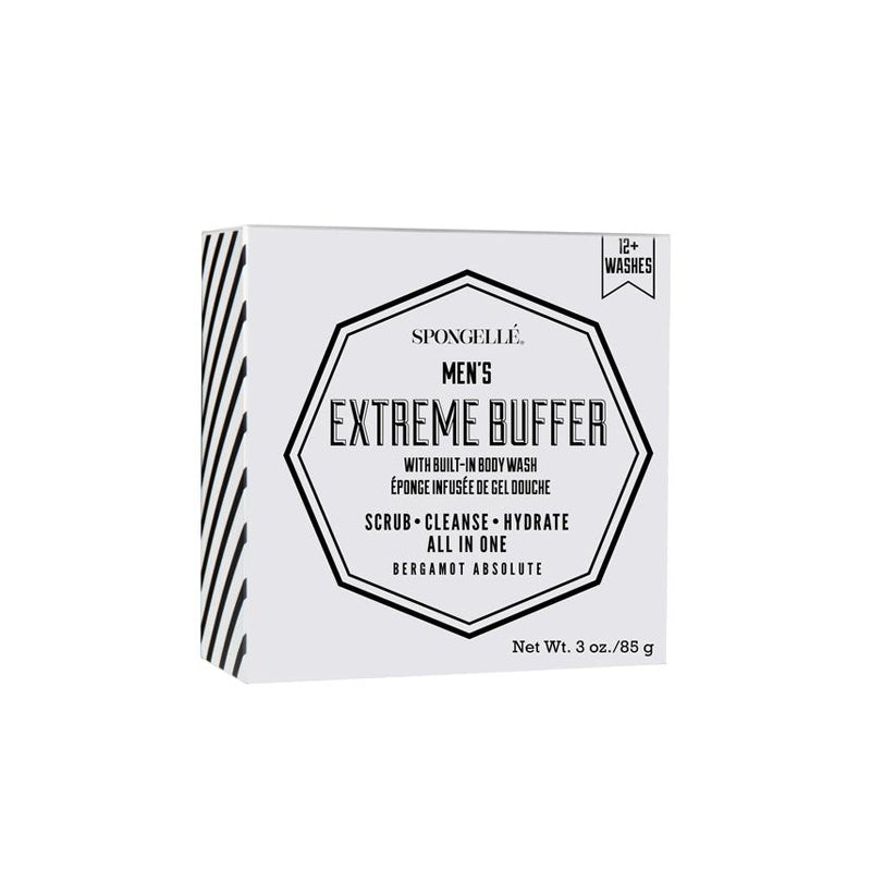 SPONGELLE | Men's Extreme Buffer - Bergamot Absolute