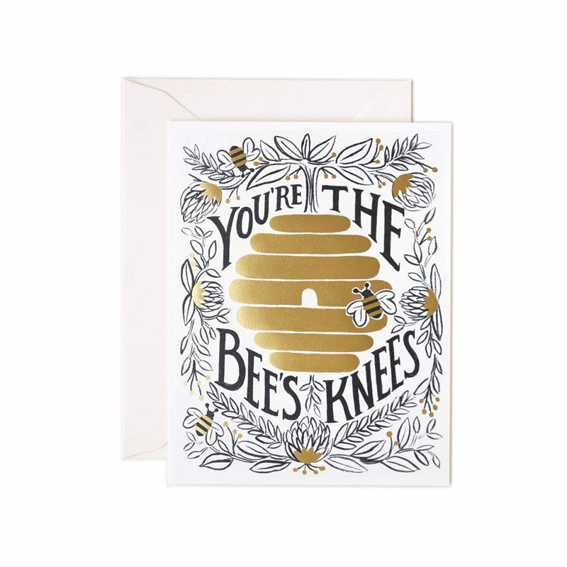 rifle-paper-co-bees-knees-greeting-card