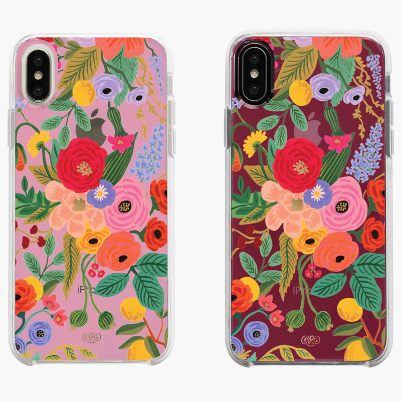RIFLE PAPER CO | Clear Garden Party Blush iPhone Case