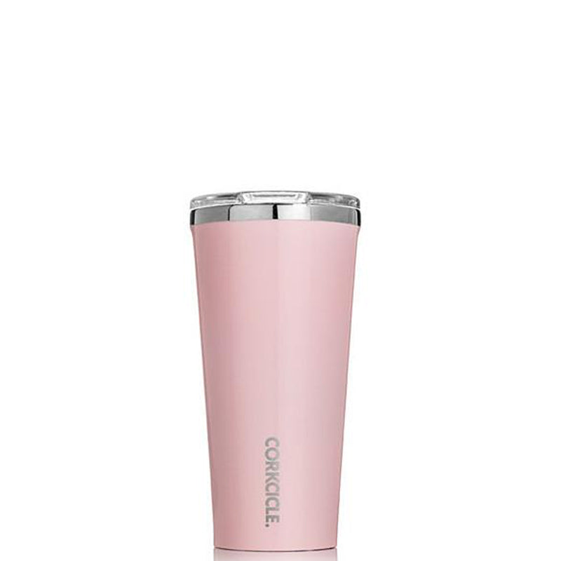 CORKCICLE | 16oz Tumbler - Rose Quartz