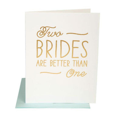 THE SOCIAL TYPE | Two Brides Card