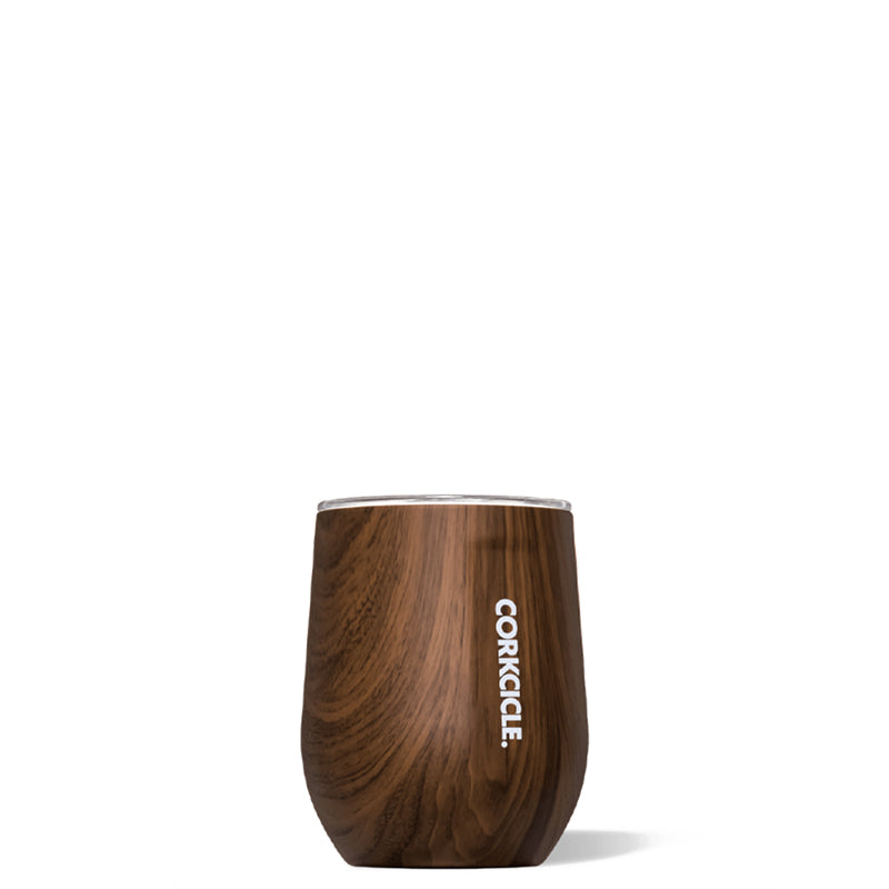 CORKCICLE | Stemless Wine Cup - Walnut