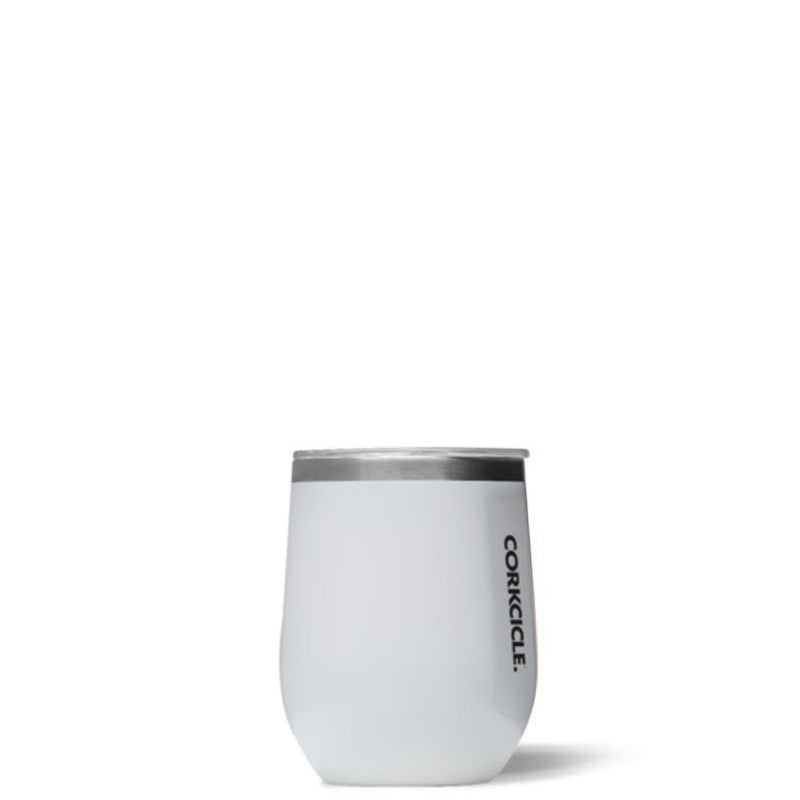CORKCICLE | Stemless - Gloss White