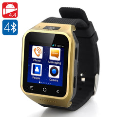 ZGPAX S8 Android 4.4 Smartwatch Phone - Golden