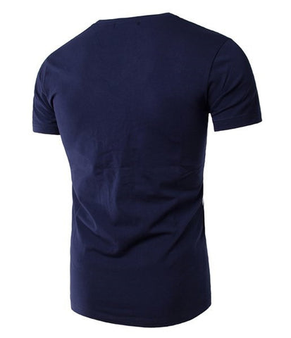 Slimming T-Shirt For Men with Short Sleeves