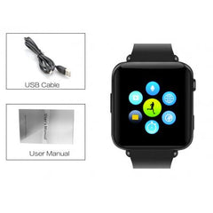 Bluetooth Smart Watch Phone Black