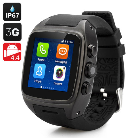 iMacwear SPARTA M7 Smart Watch Phone - IP67 Waterproof