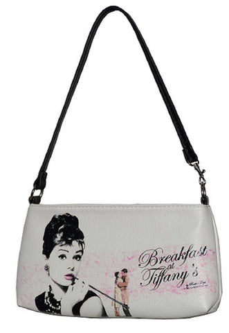 White Licensed Breakfast at Tiffany Clutch