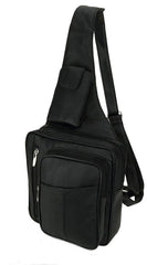 Shoulder Black Backpack Cross Body Bag
