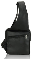 Shoulder Black Backpack Back