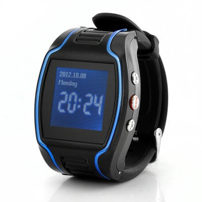 GPS Cell Phone Watch with SOS Calls Quad Band, Two Way Calling