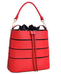 Red Fashion Women Shoulder Handbags