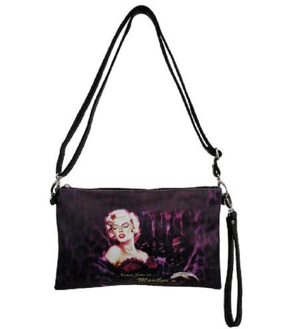 Licensed Marilyn Messenger Bag Cluth A177MM8121