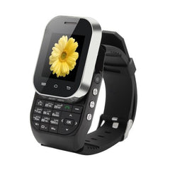 Ken Xin Da W1 Bluetooth Watch Phone with Slide Out Keyboard