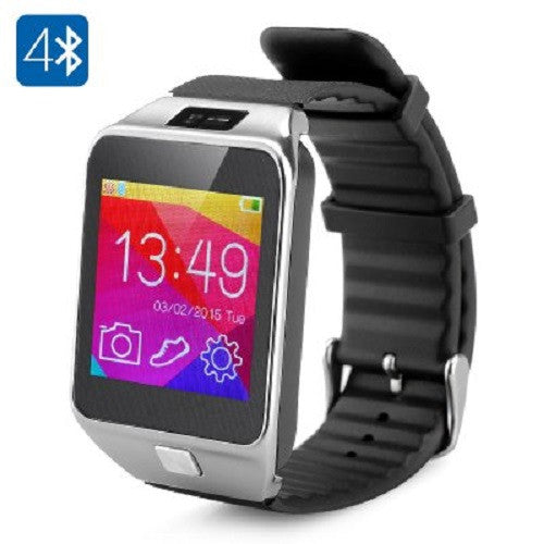 Smart Watch Bluetooth with Phonebook Sync, Camera, Dialer