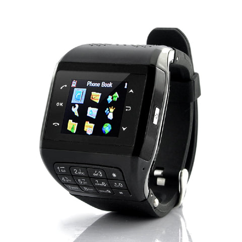 "Mobile Phone Watch ""Panther"" - Quad Band GSM, Touchscreen, Keypad"
