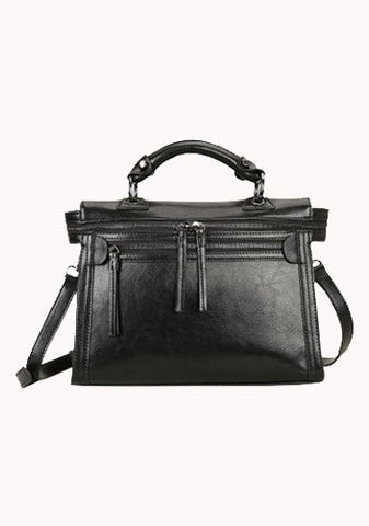 Brittney Vintage Cross Body Bag Black