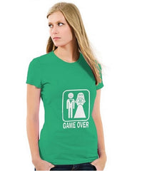 Game Over Ladies T-Shirt