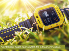 MFOX AWATCH - IP68 Heart Monitor Watch, Android 4.3 OS, Bluetooth 4.0 Watches
