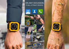 MFOX AWATCH - IP68 Heart Monitor Watch, Android 4.3 OS, Bluetooth 4.0 to wear anywhere