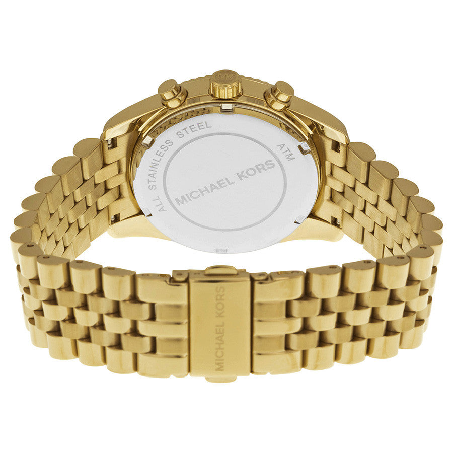 Michael Kors Gold Lexington Chronograph Womens' Watch MK5556