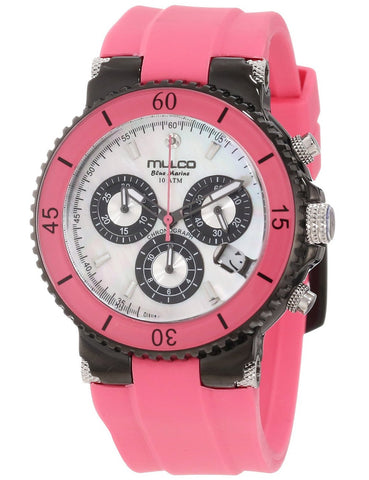 Mulco Women's Chronograph Watch 2 Years Warranty Water Resistant
