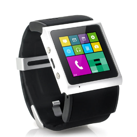"Android Smart Watch ""V Strike"" with Bluetooth - Black"