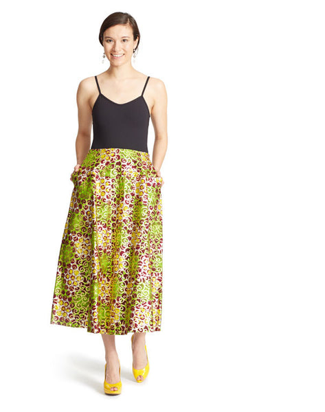 MIDI SKIRT IN OSIKANI - WORK FROM HOME SALE