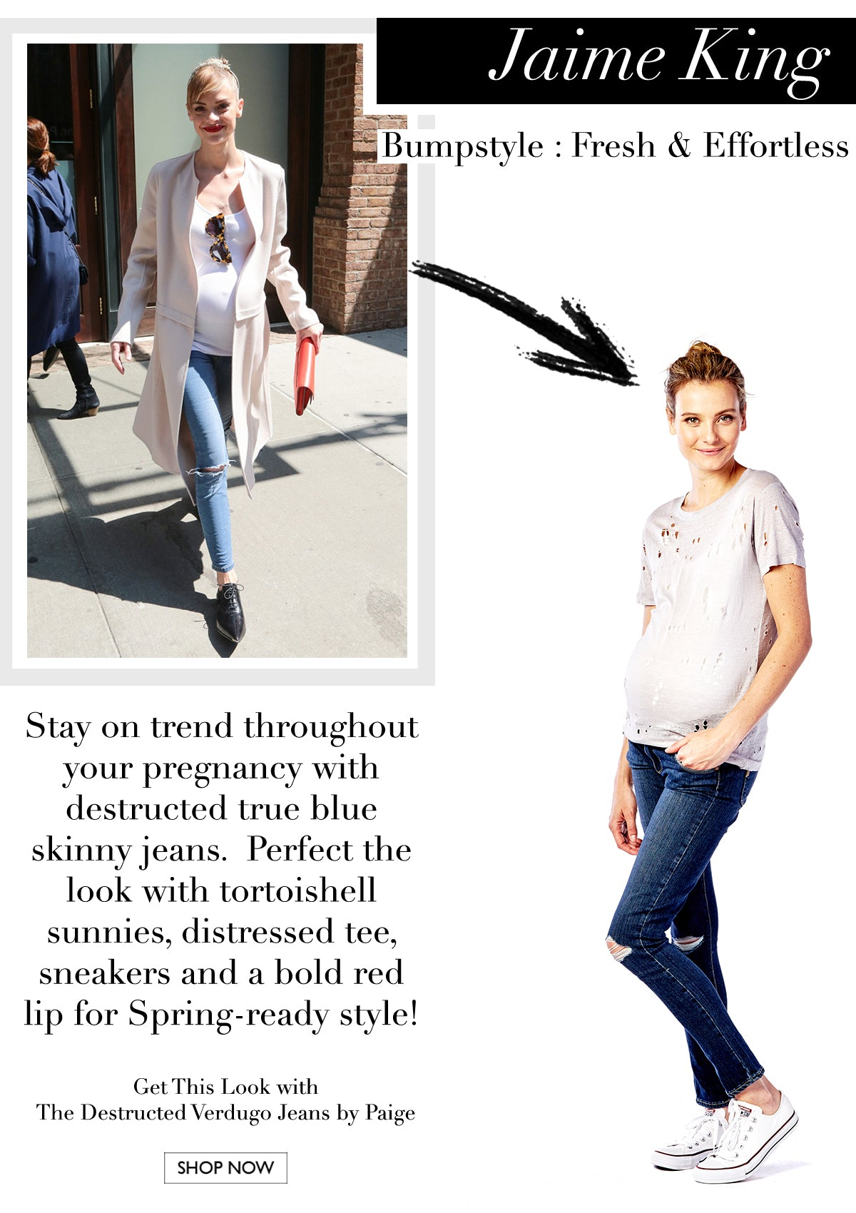 Get The Look - Jaime King
