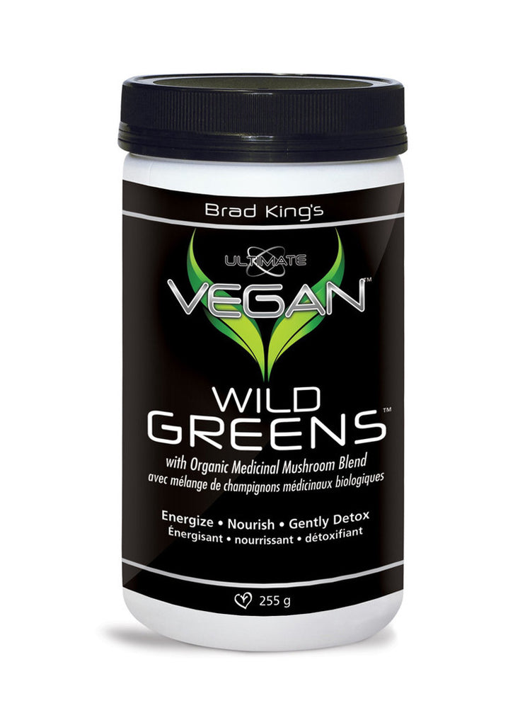 Ultimate Vegan Wild Greens