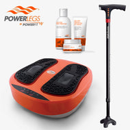 Paquete de Powerlegs + Bastón Walk Buddy + 3 cremas powerlegs. (4668003713072)