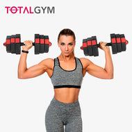 Set de mancuernas ajustables  TotalGym