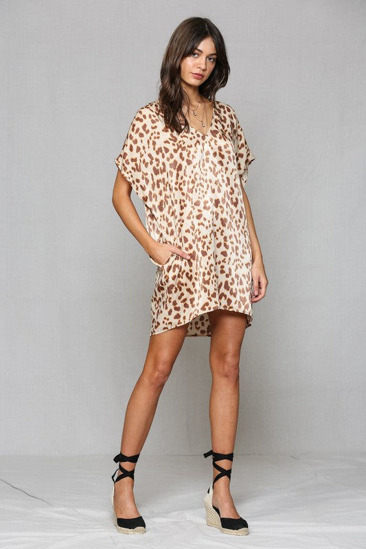 Wild Side Tunic Dress