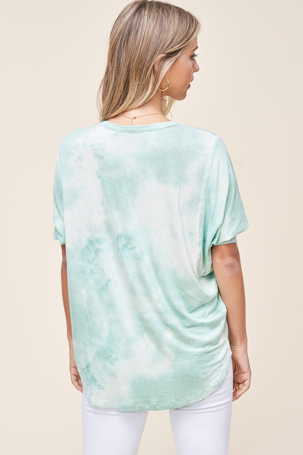 Minty Gypsy Dolman Top