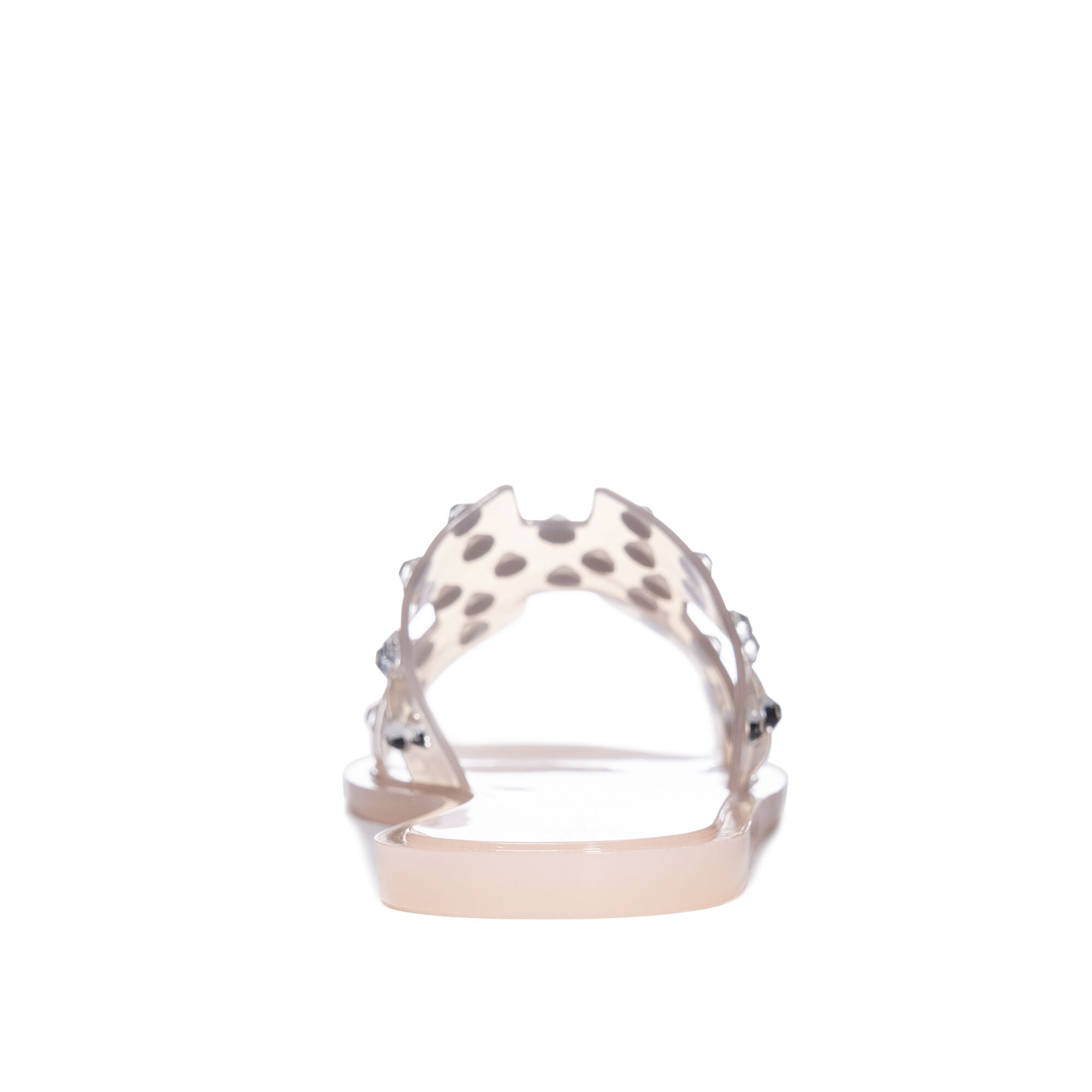 Charli Clear Blush Sandal
