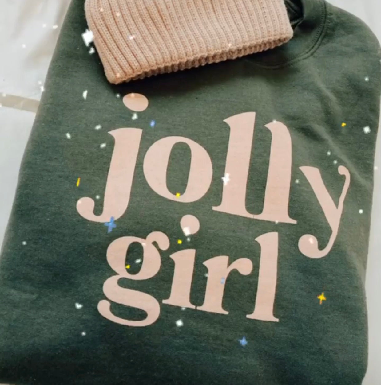 Jolly Girl Graphic Sweatshirt