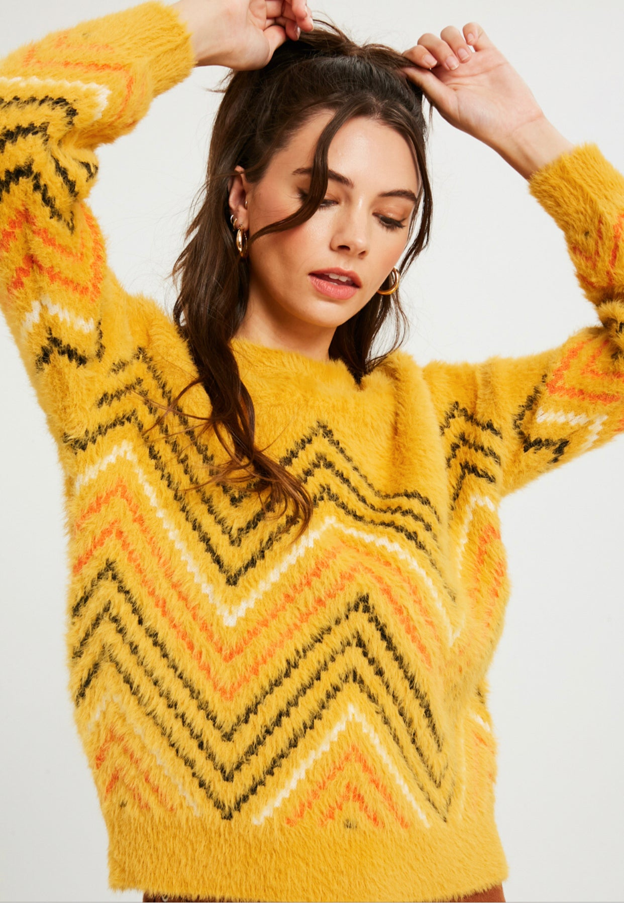 Sunshine Heartbeats Sweater