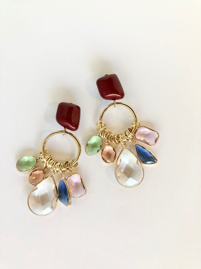 Sparkly Jewel Earrings