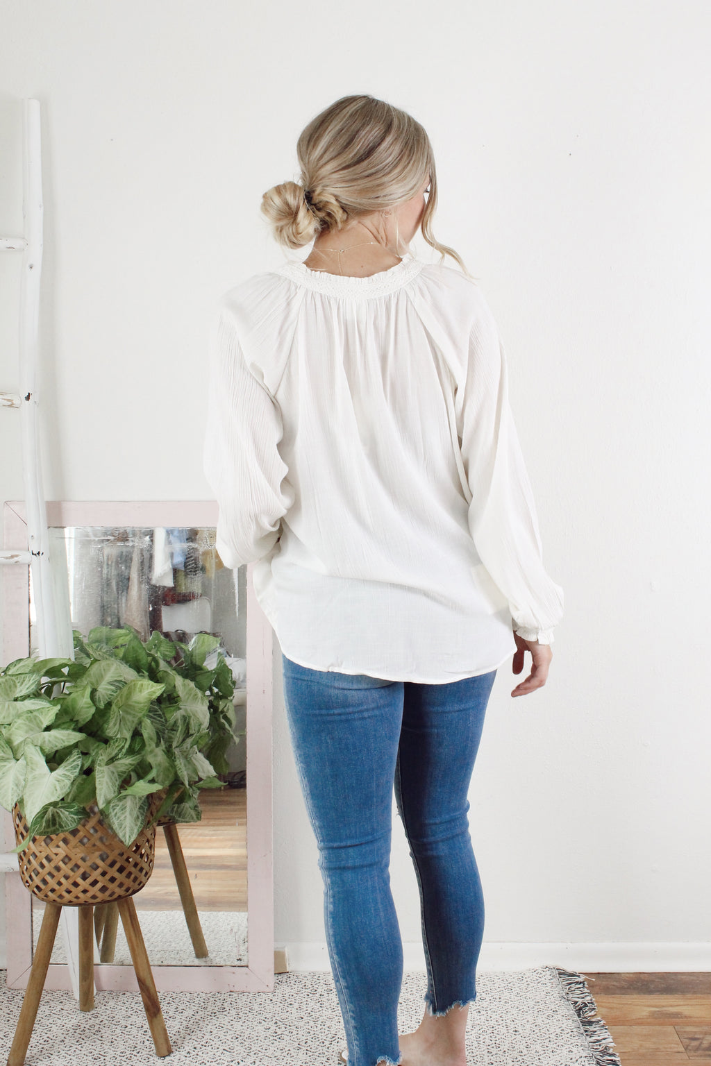 Sweetly Floral Embroidered Top